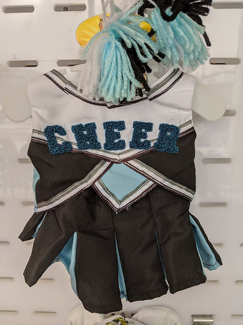 Cheer Outfit Blue & Black