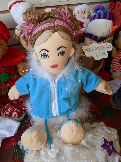 Doll Pink & Brown Hair
