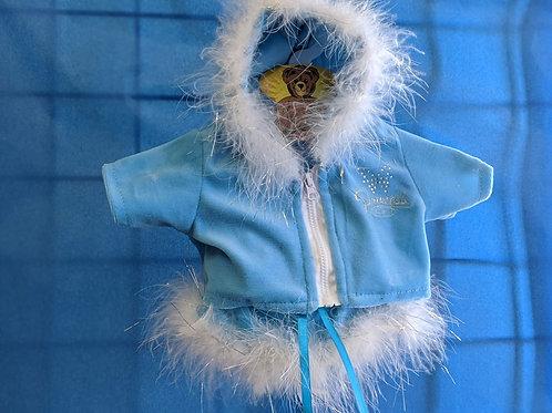 Blue Sparkle Princess Outfit