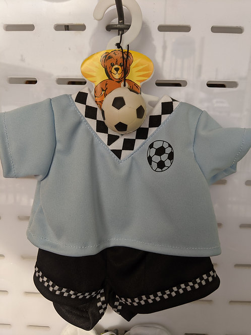 Soccer Outfit with Ball