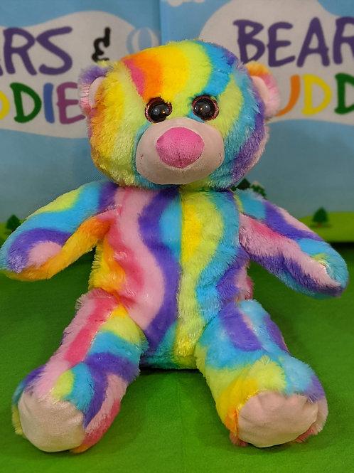 Rainbow Stripe Bear