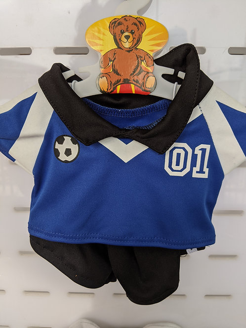 Soccer Outfit Blue