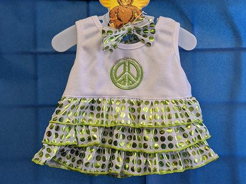 Green Peace Dress