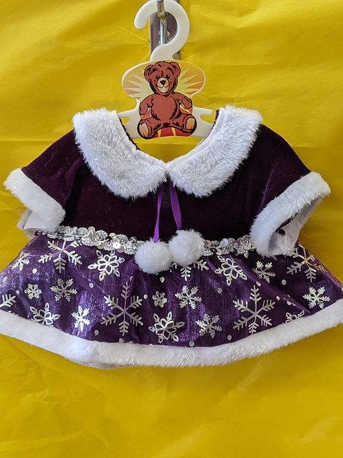Purple Snow Flake Dress
