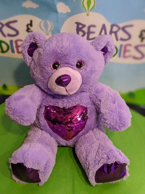 Purple Love Bear