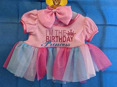 Birthday Princess Girl Outfit