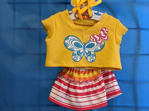 Yellow Butterfly Outfit
