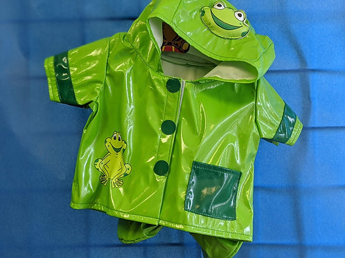 Green Frog Raincoat with Boots