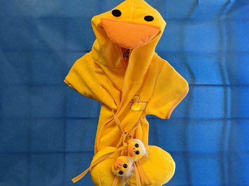 Duck Bath Robe and Slippers