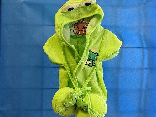 Frog Bath Robe & Slippers