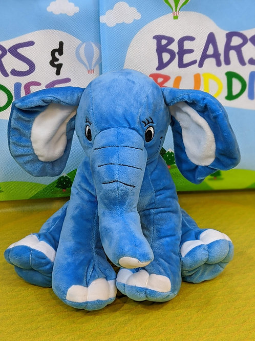 Elephant - Blue