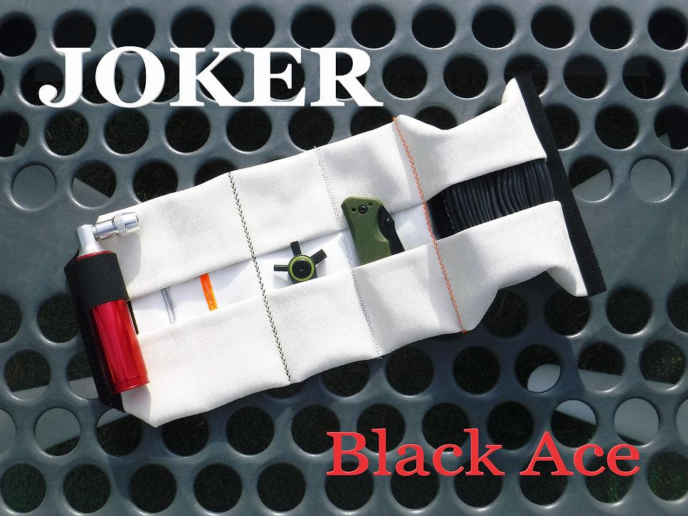 New Majestic White JET Roll MTB Wild Weasel 2.0 JOKER Black Ace