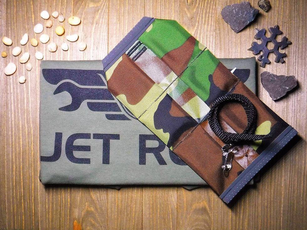JET Roll Supersonic Gravel Series CAMO