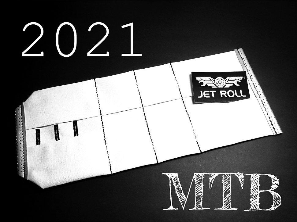 New 2021 JET Roll MTB ( Arctic White / Aluminum / Jet Black ) Now Available !