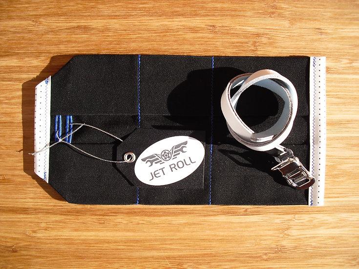 JET ROLL ( BLACK / WHITE / BLUE )