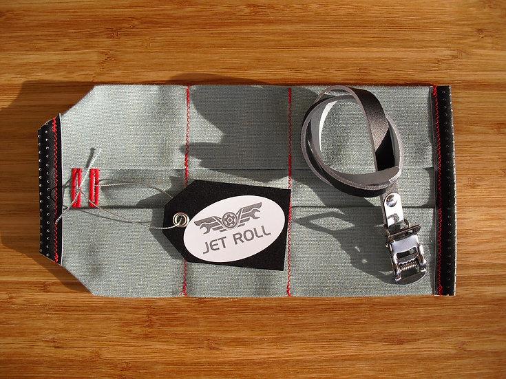 JET ROLL ( CELESTE / BLACK / RED )