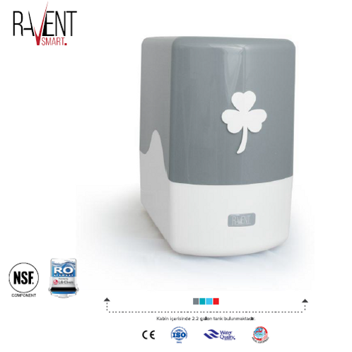 Ravent Smart 6 Aşamalı Su Arıtma Cihazı 6A-LÜKS POMPASIZ