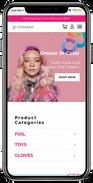 Framar Mobile Website Mockup