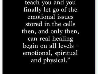 Have you thought about what healing really means?