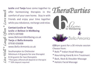 Book a TheraParty!