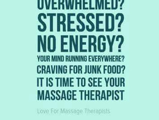 Life is good with regular massage sessions!