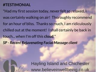 Focus on.... client testimonial