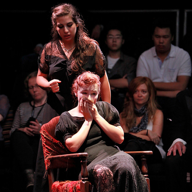Belinda peforming Berio's Sequenza III
