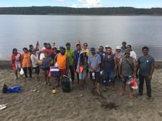 Fishing in the holidays. Otahuhu Community Baptist Auckland Tamil Church trip