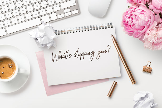 What's stopping you? Feminine workspace