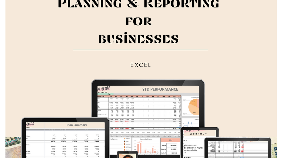Financial Planning & Reporting for Businesses