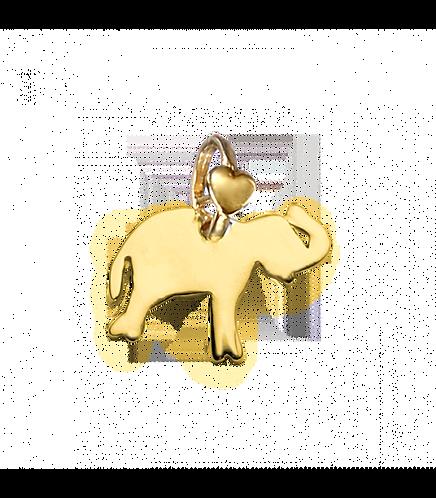 """Ciondolo Elefante """"Infinitamente grande"""""""