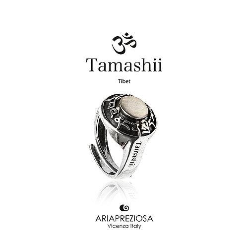Anello Tondo Tamashii Ruota Preghiera in Argento  RHS925-S