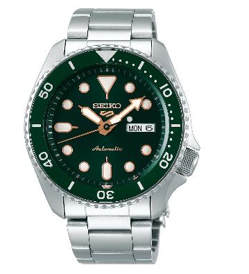 Seiko 5 Sports Green/Grey - SRPD63K1
