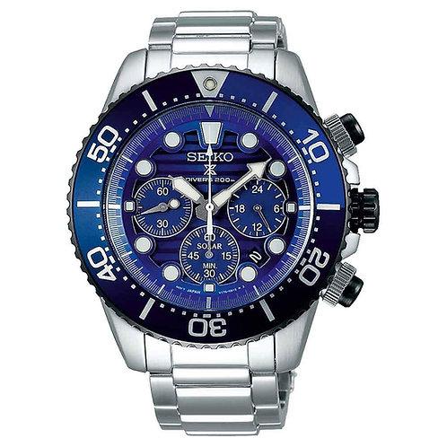SEIKO PROSPEX Save the Ocean cronografo solare SSC675P1