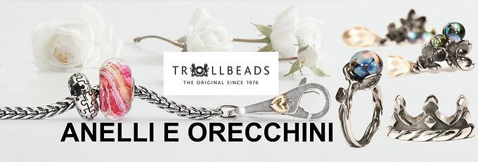 Trollbeads Anelli e Orecchini