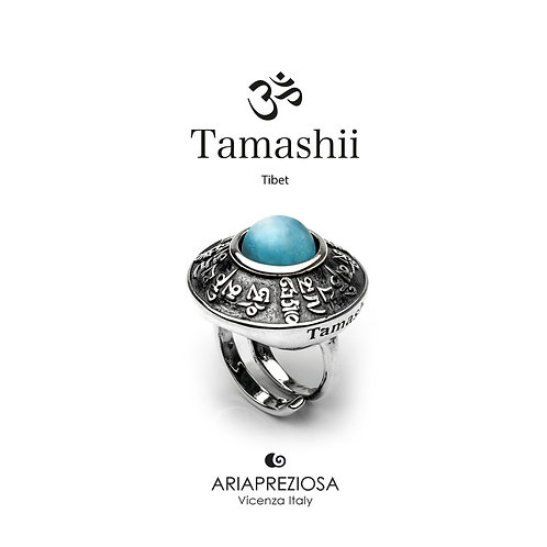 Anello Tamashii RIG ZVA Giada Sky Blue  RHS904-196