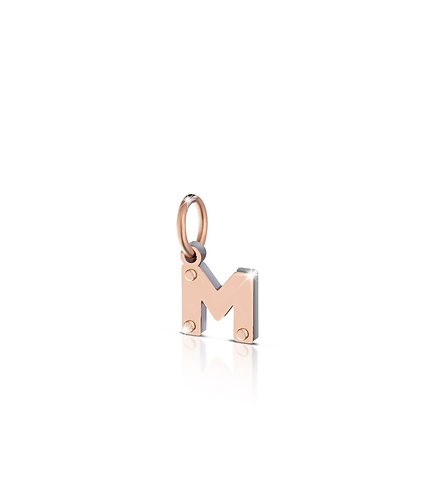 CHARM LOCK YOUR LOVE LETTERA M LBB170-M
