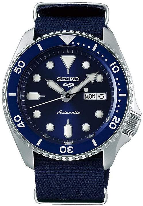 SEIKO  5 Sport con cinturino Nato blu,  SRPD51K2
