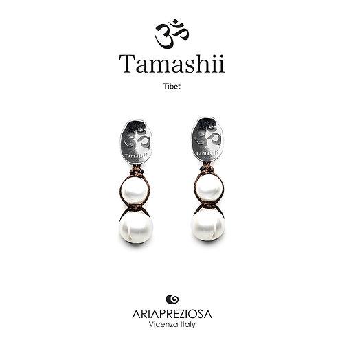Orecchini Tamashii Argento con Perla Naturale  EHST2-179