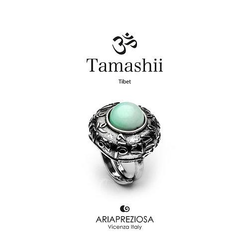 Anello Tamashii DVAGS ZVA Agata Azzurra (Sky)  RHS905-53
