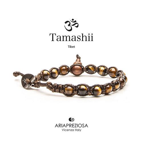 Tamashii Occhio di Tigre Marrone (6mm)  BHS601-214