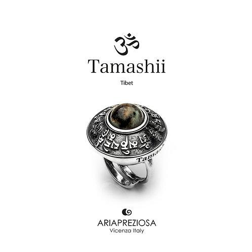 Anello Tamashii RIG ZVA Turchese Africano  RHS904-75