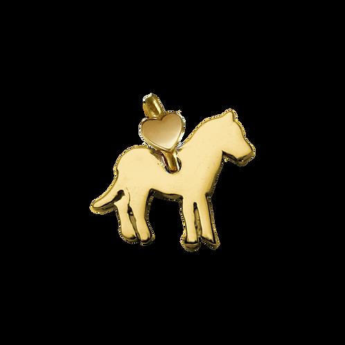 """Ciondolo Cavallo """"Che bella amicizia"""""""