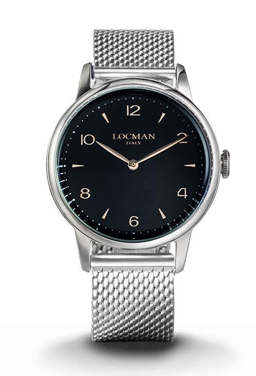 Orologio solo tempo uomo LOCMAN 1960 - 0251A01R-00BKRG2B0