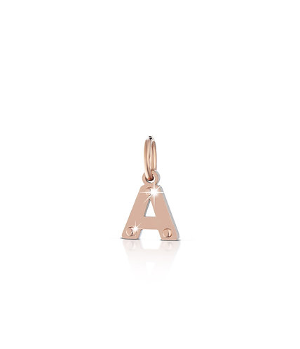 CHARM LOCK YOUR LOVE LETTERA A LBB170-A