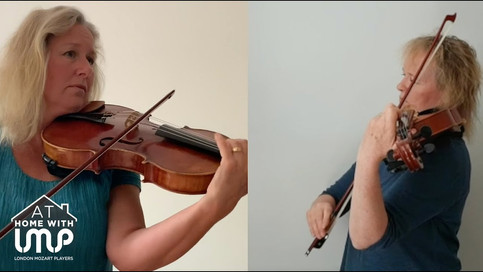 Prelude and Canon for two violas | Sophie Renshaw & Sally Beamish