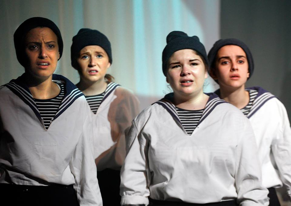 Scared Sailors