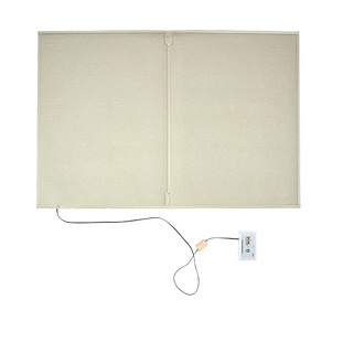 The floor mat wandering detection system is a system whereby should a person place weight on a mat, a signal is sent to a care provider that a patient has left their bed and may be in need of attention.
