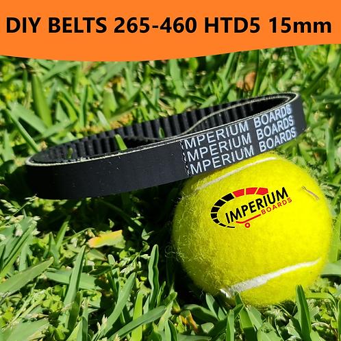 DIY ESK8 Belts Assorted Lengths (HTD5 15mm) set