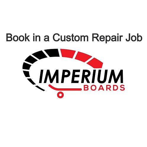 Custom Repair Book in Process